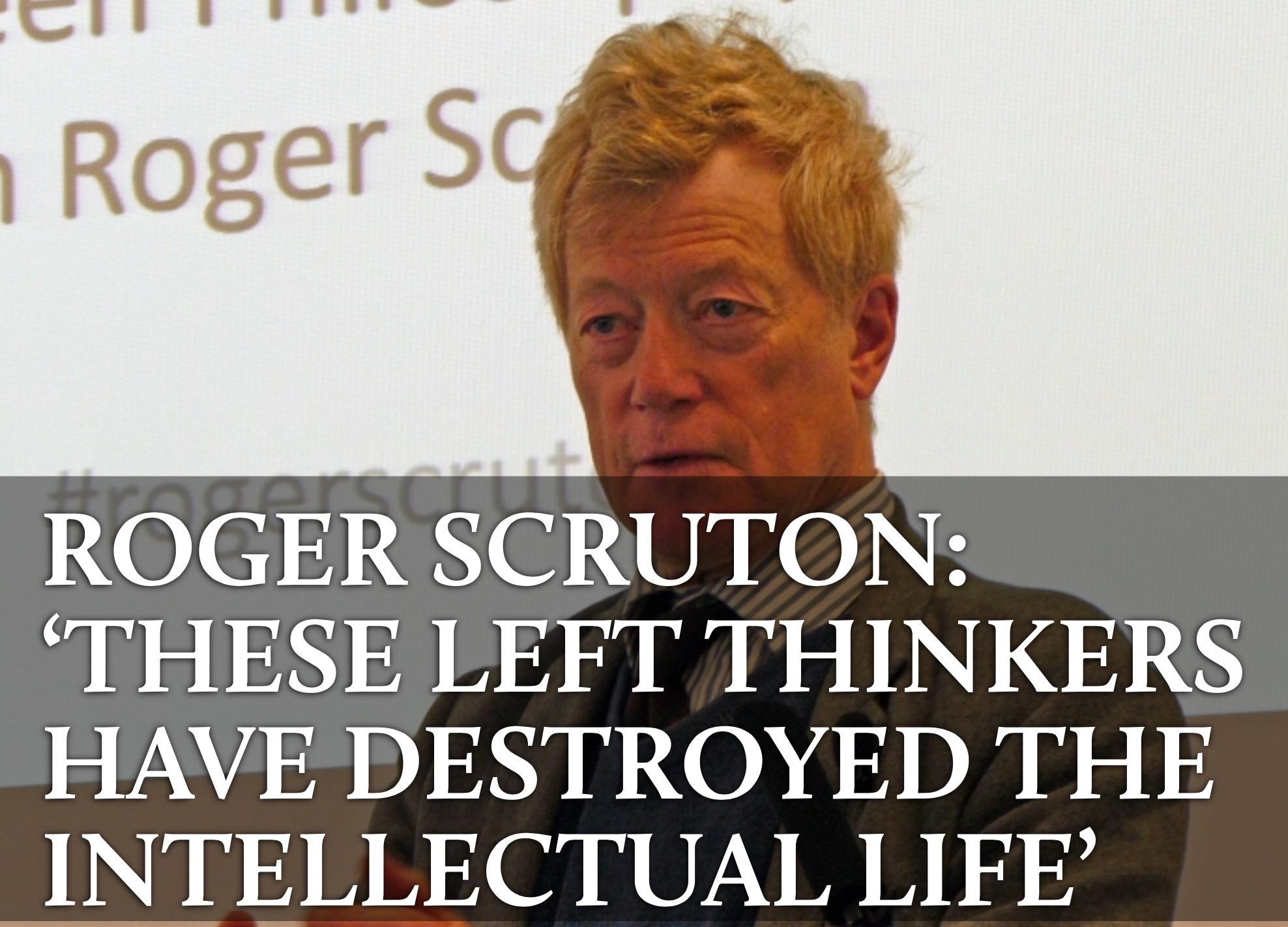 Roger scruton homosexuality statistics
